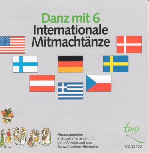 CD Danz mit 6 Internationale Mitmachtänze