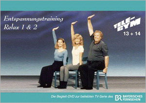 DVD TELE-GYM 13 + 14 - Relax Entspannungstraining 1+2