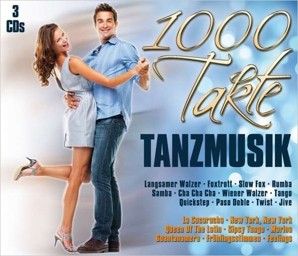 CD Box 1000 Takte Tanzmusik