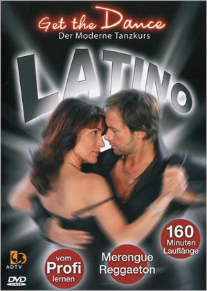 DVD Get The Dance  Latino