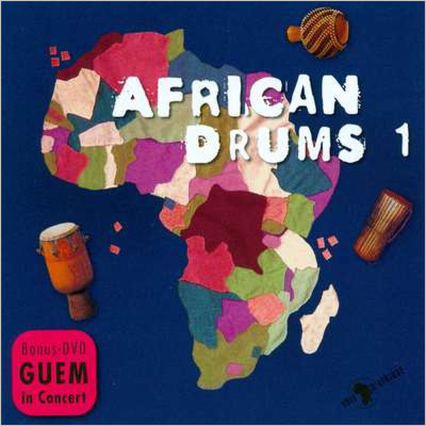 CD - DVD African Drums Vol. 1