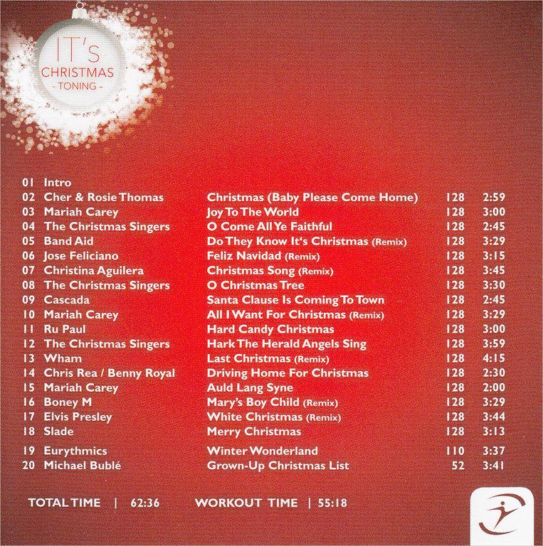 CD Its Christmas - Toning - Tanzversand-Shop