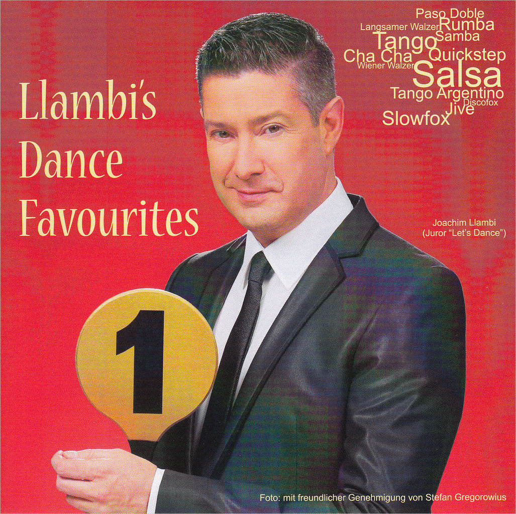 Llambis Dance Favourites CD
