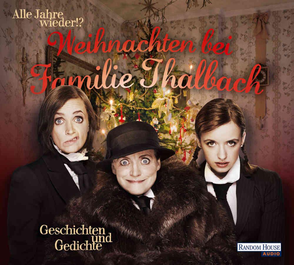 Hörbuch Weihnachten.Weihnachten Bei Familie Thalbach Hörbuch