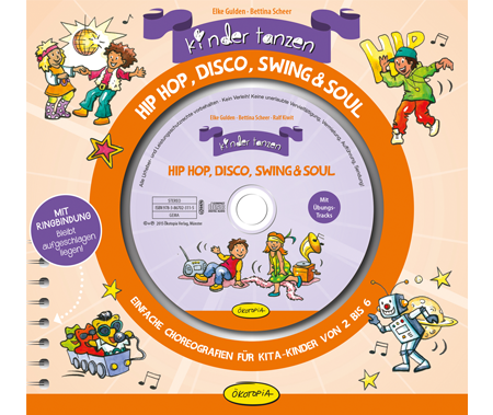 Kinder tanzen Hip Hop, Disco, Swing & Soul